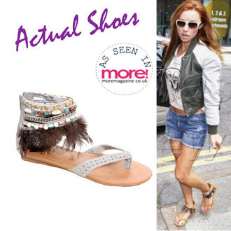 View Item Tribal Embellished Sandal